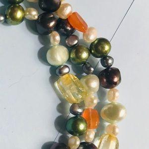 Jewelry - Triple strand freshwater pearl bracelet.